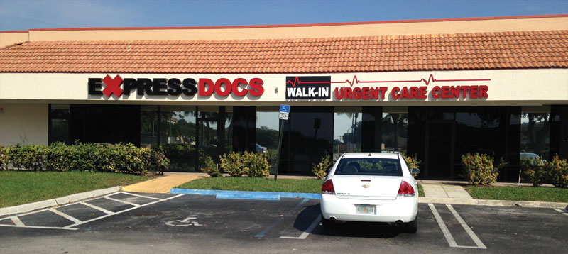 ExpressDocs Walk In Urgent Care Center East Delray Beach